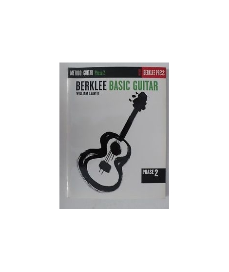 Berklee basic Guitar William Leavitt Method for Guitar Phase 2 book English