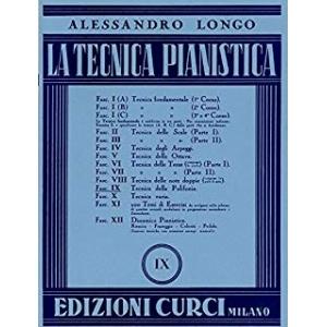 La tecnica pianistica. Fascicolo 9. Tecnica della polifonia