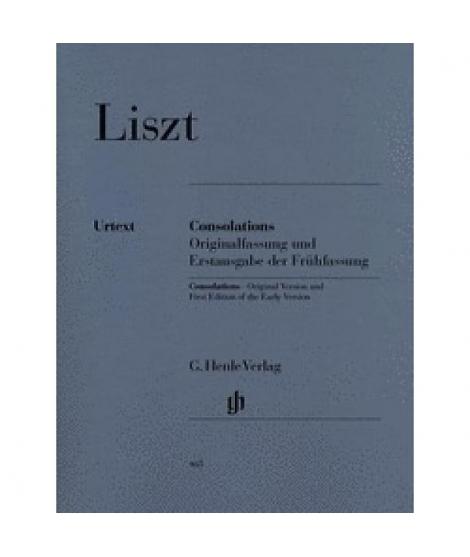 Liszt: Consolations G. Henle Verlag