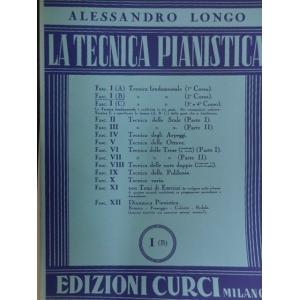 A.LONGO LA TECNICA PIANISTICA I B