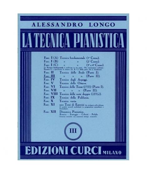 LA TECNICA PIANISTICA VOL.3,A. LONGO