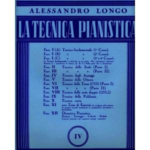 La tecnica pianistica IV