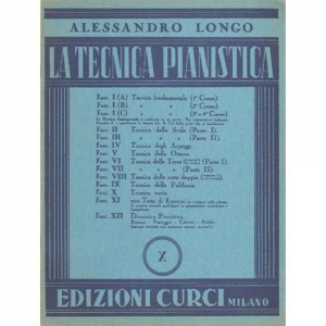 Curci Tecnica Pianistica Alessandro Longo La Tecnica Pianistica X
