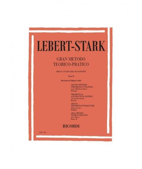 Gran Metodo Teorico Pratico Parte 2 Casa Editrice: RICORDI Compositore: Lebert Stark Categoria: pianoforte