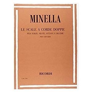 MINELLA SCALE A CORDE DOPPIE PER TERZE SESTE OTTAVE E DECIME