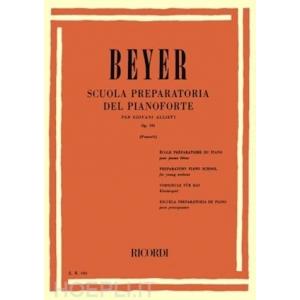 063 SCUOLA PREPARATORIA DEL PIANOFORTE - BEYER (POZZOLI) PER GIOVANI ALLIEVI OP.101  BEYER (POZZOLI)