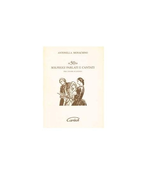 Monachino - 50 solfeggi parlati e cantati