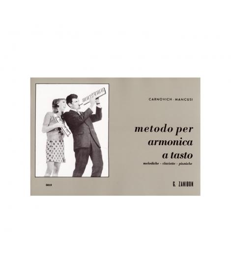 Metodo per armonica a tasto. Codice: GZ5019 Autore: Mancusi - Carnovich Casa Editrice: Zanibon Strumento: Melodica