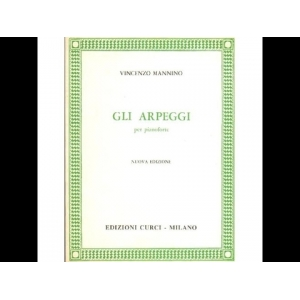 Curci Cl346 Tecnica Pianistica Vincenzo Mannino Gli Arpeggi Nuova Edizione