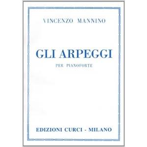 271 Vincenzo Mannino - Gli arpeggi per Pianoforte Codice: EC9409