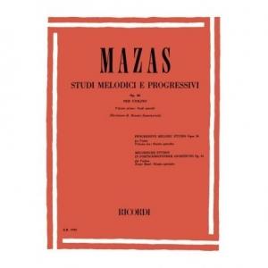 1228 MAZAS Studi melodici e progressivi op.36 Ricordi