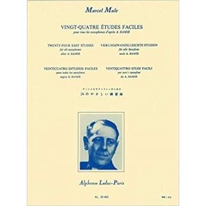 MARCEL MULE - 24 Studi Facili (etudes faciles) per sassofono Copertina flessibile – 2012