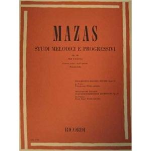 MAZAS - Studi melodici e progressivi. Volume 1 Copertina flessibile – 2012