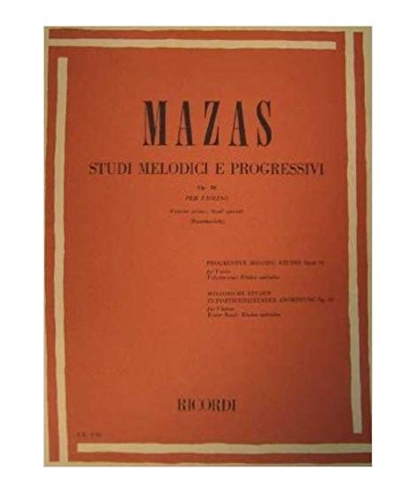 1228 MAZAS - Studi melodici e progressivi. Volume 1 Copertina flessibile – 2012