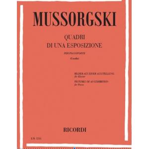 1234 Mussorgsky, Modest Petrovich - Quadri Di Un'Esposizione