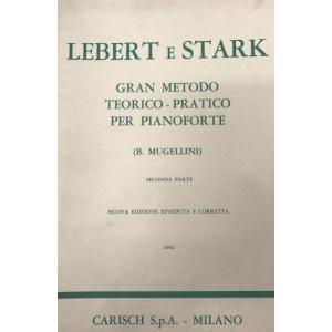 Carisch Tecnica Pianistica Lebert E Stark Gran Metodo Teorico-Pratico Per Pianof