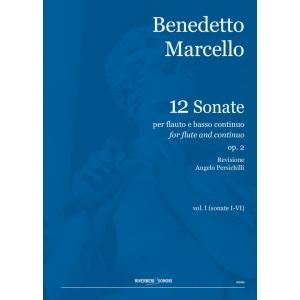 BENEDETTO MARCELLO SONATA FOR FLUTE AND BASSO CONTINUO VOL. I
