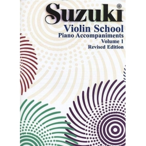 856 SUZUKI Violin School Vol.1 Piano Accompaniment