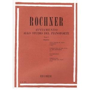 Ricordi Rochner Parte 1 - Avviamento allo studio del pianoforte