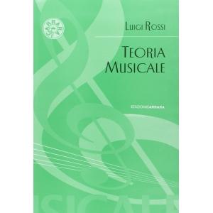 ROSSI : TEORIA MUSICALE EDIZIONI CARRARA CR3461