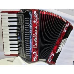 CASTELLANI 48 bassi NUOVO ACCORDION FISARMONICHE Fisarmonica