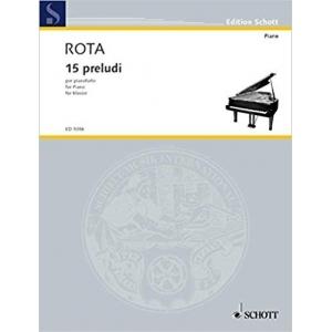 15 Preludi Per Pianoforte...
