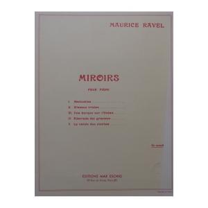 RAVEL MAURICE MIROIRS PIANO