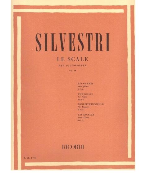 Silvestri: Le Scale Per Pianoforte Vol.II - Ricordi