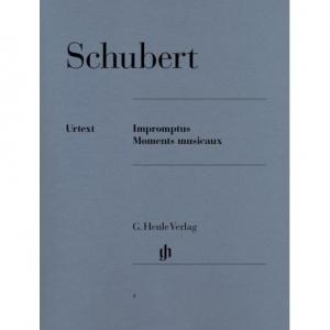 1031 SCHUBERT F. Impromptus, Moments Musicaux