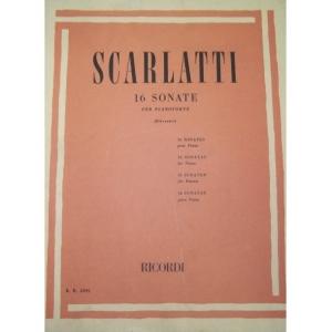 377 SCARLATTI 16 SONATE PER...