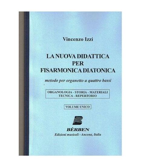 836 LA NUOVA DIDATTICA PER FISARMONICA DIATONICA BERBEN (VINCENZO IZZI)