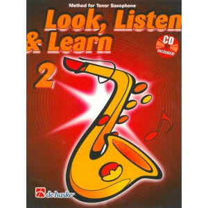1382 Look, Listen & Learn - Tenor Saxophone Part 2 (Book And CD)