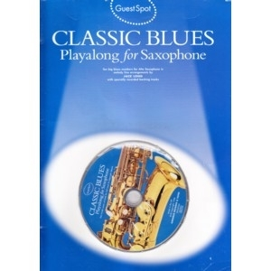 1510 Classic Blues Playalong For Saxophone SONGBOOK