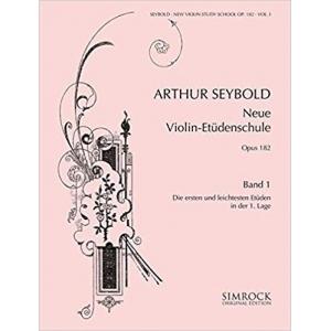 1914 Neue Violin Études 1 Op.182 Violon