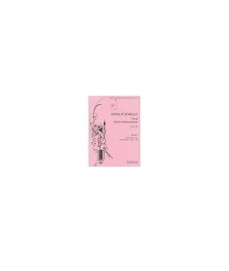 782 Neue Violin Études 5 Op.182 Violon