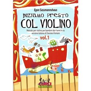 1972 Egon Sassmannshaus Iniziamo presto col violino volume 1