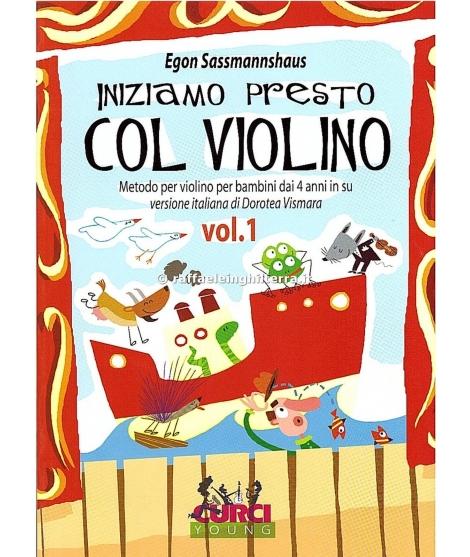 1072 Egon Sassmannshaus Iniziamo presto col violino volume 1