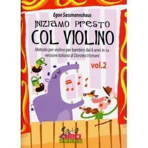 1203 Iniziamo presto col violino Volume 2  Metodo per violino per bambini dai 6 anni in su