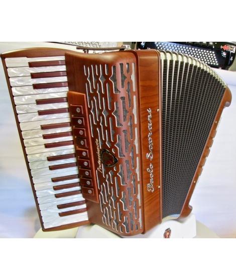 Paolo Soprani FOLK 37/96 bassi NUOVO ACCORDION FISARMONICHE FISARMONICA GARANZIA 5 ANNI