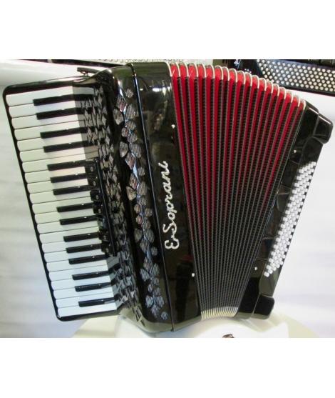 Fisarmonica E Soprani modello 809 KK 80 Bassi 37-80-3/5 7+4 Voci Commerciali